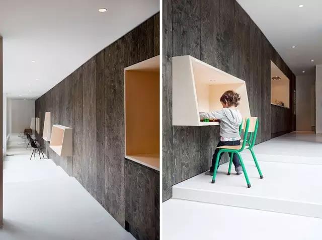 墙上书桌设计3