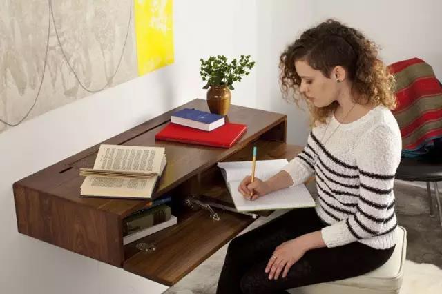 墙上书桌设计5